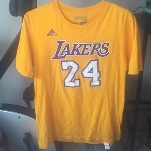 Adidas LA Lakers Kobe Bryant T Shirt Boys Large